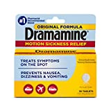 Best Medicine For Motion Sickness - Dramamine Original Formula Motion Sickness Relief | 36 Review