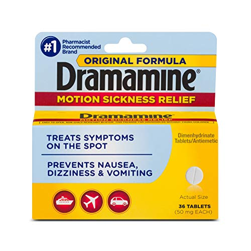 Dramamine Original Formula Motion Sickness Relief | 36 Count