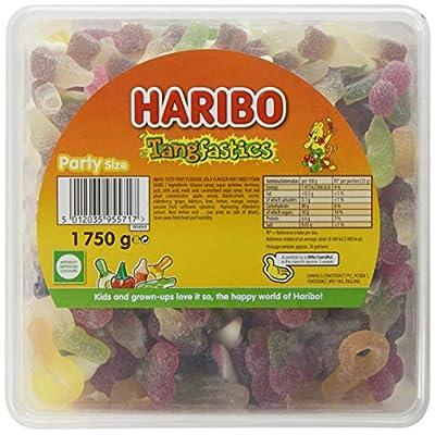 haribo tangfastics bulk sour sweets tub, 1.75kg Haribo Tangfastics bulk sour sweets tub, 1.75kg 51s0vrdnSJL