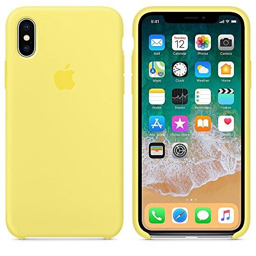El último Verano Funda iPhone X, Slim Líquido de Silicona Gel Carcasa Anti-Rasguño y Resistente Huellas Dactilares Totalmente Protectora Caso Cover Case para iPhone X (5.8