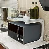 Kitchen Storage Double étagère de Rangement, étagère de Rangement de Cuisine au Sol 50 * 38 * 36cm (Color : B)