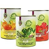 DOGREFORM Gemüse pur 36 x 410g grün rot gelb Jetzt als Sparpaket Ideal zum BARF en Diätfutter für Hunde 100% hochwertiges Gemüse Frei von Getreide Fleisch Soja Haltbarkeitsstoffen Zusatzstoffen - 2