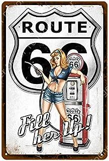 Roovtap Cartel de Chapa Cartel de Chapa Cartel de Chapa de Metal Bar Club Garaje Decoración del hogar Placa de Arte de Par...