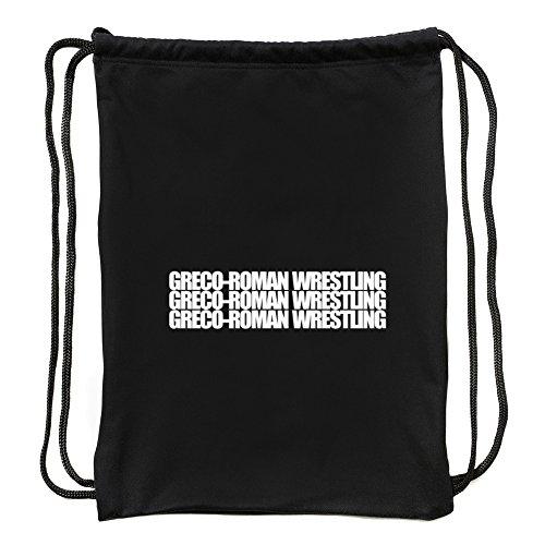 Eddany Greco Roman Wrestling Three Words Turnbeutel