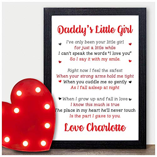 Daddys Little Girl PERSONALISED...