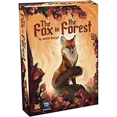Renegade Game Studios - The Fox in the Forest Card Game (0574RGS), A Trick-Taking Game for 2 Players, Age 10 and up, 30 min playing time, Compact Size is Perfect for Travel, Teen & Adult Game Night