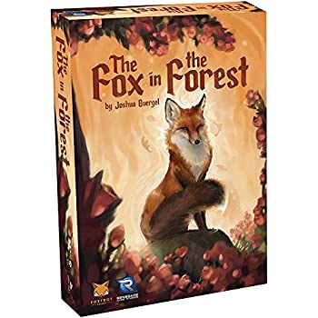 Renegade Game Studios - The Fox in the Forest Card Game  0574RGS  A Trick-Taking Game for 2 Players Age 10 and Up 30 min Playing Time Compact Size is Perfect for Travel Teen & Adult Game Night