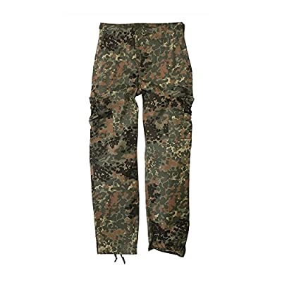Mil-Tec Flecktarn Camo Range BDU Style Field Pants (Medium)