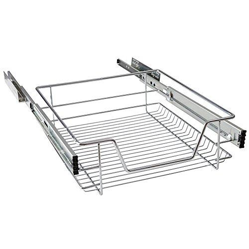 Mctech - Cajón de cocina telescópico, armario extraíble de dormitorio,