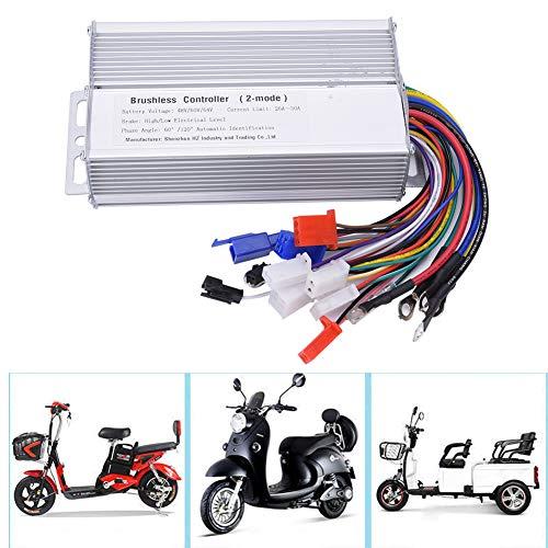 48V 60V 64V 1000W-1500W Bicicleta eléctrica sin escobillas, controlador de motor para patinete eléctrico