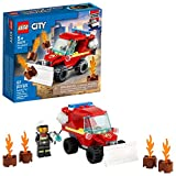 LEGO City Fire Hazard Truck 60279 Building Kit; Firefighter Toy That Makes a Cool Building Toy for Kids, New 2021 (87 Pieces)