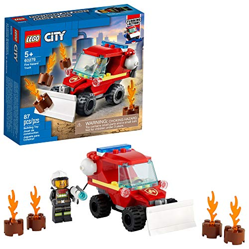 LEGO City Fire Hazard Truck 60279 Building Kit; Firefighter Toy That Makes a Cool Building Toy for Kids, New 2021...
