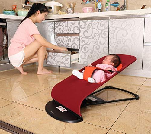 chaise haute bebe chicco Fauteuil à bascule pour bébé - Portable peut s'asseoir inclinable, lit-berceau pour bébé, fauteuil à bascule respirant, convient aux nourrissons (de 0 à 2 ans)