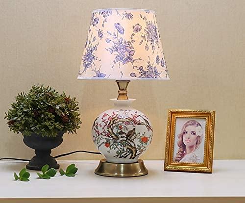 Oven Porseleinen Tafellamp Antieke Bloemen Vaas Bureaulamp Klassieke Traditie Thuis Slaapkamer Meubels Staande…