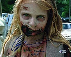 Addy Miller Autographed Signed Memorabilia 8x10 Photo First Walker Killed The Walking Dead Beckett Bas