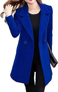 Slim Fit Blazer Wool-Blend Career Lapel Jacket Blazer Coat
