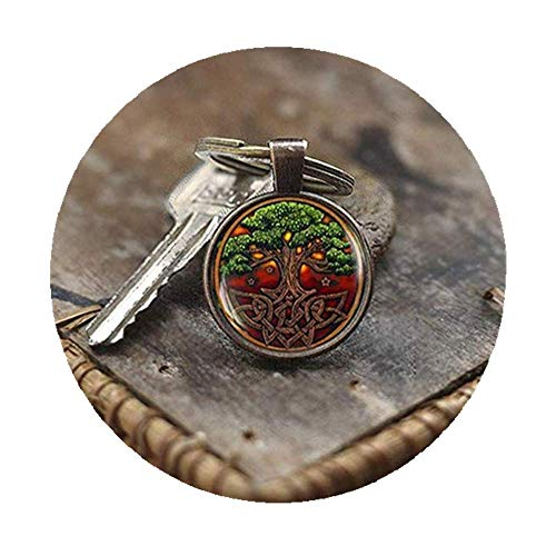 we are Forever family Schlüsselanhänger, keltischer Baum des Lebens, mit keltischem Knoten, Schlüsselanhänger, irischer Schlüsselanhänger