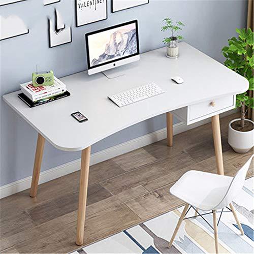 Computer Desks Gaming Desk Gamer Workstation PC Computer Tafel Eenvoudige Effen Houten Bureau Opslag met Lade