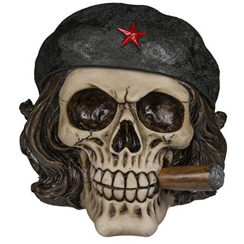 Spardose,Sparbüchse,Sparschwein Skull,Totenkopf,Freiheitskämpfer mit Zigarre