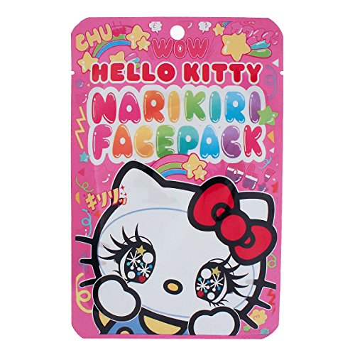Hello Kitty Narikiri face pack Kawaii JAPANESE COSMETICS Cosmétique Japonaise