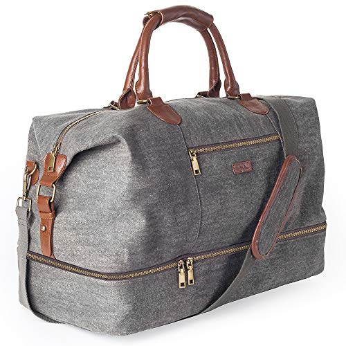 Canvas Travel Tote Luggage Men