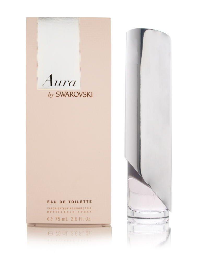 Aura Swarovski by Eau Max 52% OFF Large special price De Spray Toilette Refillable 2.6