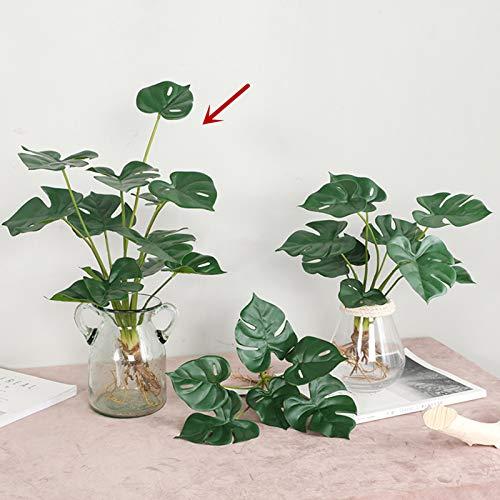 AIVORIUY Artificial Palm Leaves Plant
