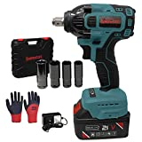 Best Cordless Impacts - Kinswood Cordless Impact Wrench kit 21V with Drill Review