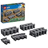 LEGO City Trains Binari, 20 Pezzi Set Accessori di Espansione, 60205