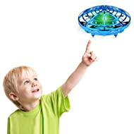 Desuccus Flying Toys Drones for Kids & Adults, Hands Controlled Mini Drone Helicopter with 360°...