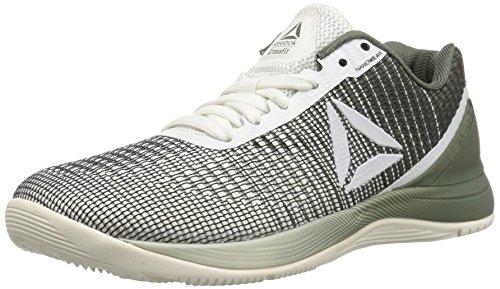 Reebok Women's Crossfit Nano 7 Sneaker, chalk/Hunter Green, 5.5 M US