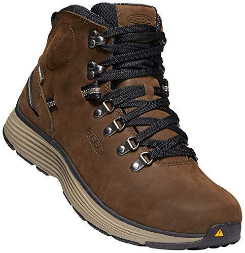 KEEN Utility - Men's Manchester 6'' WP (Soft Toe) Waterproof Work Boot for Maintenance, Transportation, Warehouse and Distribution, Cascade Brown/Brindle, 10.5D M US