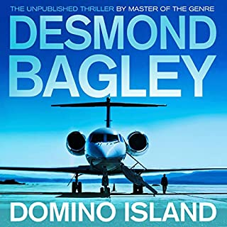 Domino Island audiobook cover art
