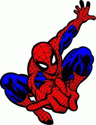 valstick Spider Man Cartoon Car Bumper Sticker Decal 4'x 5'