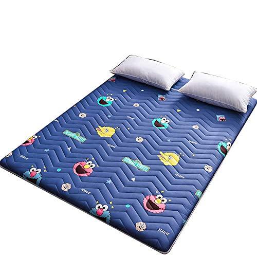 Faltbare Tatami-Matratze Weiche, atmungsaktive, traditionelle Bodenmatratze Home Bodenmatte Tragbare Schlafsack für Studentenwohnheime E 150 × 200 cm (59 × 78 Zoll)