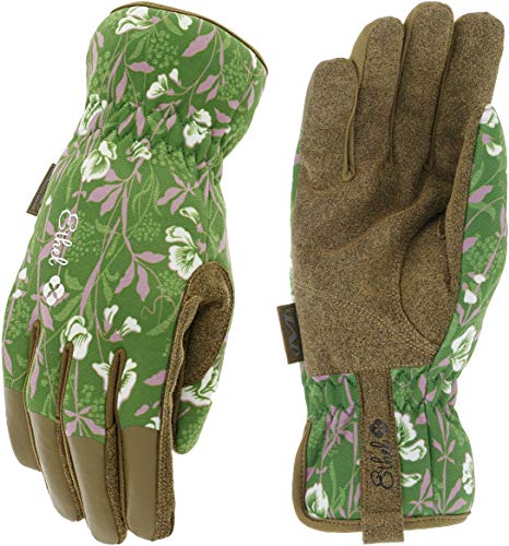 Ethel: Women's Gardening & Utility Work Gloves by Mechanix Wear - V&A Museum Collection - Sweet Pea (Women's Medium)