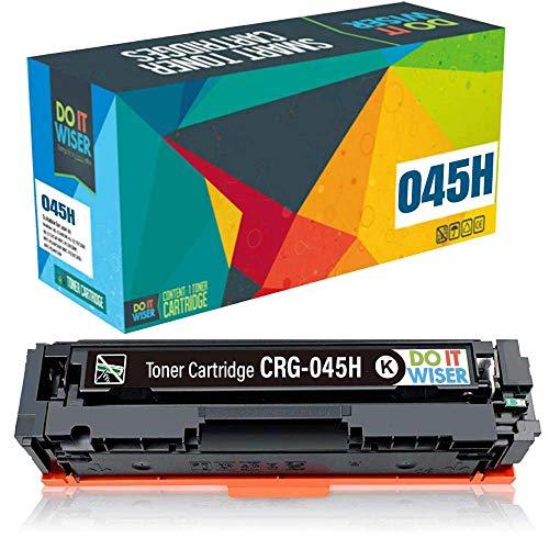 Do it wiser Kompatible Toner als Ersatz für Canon 045H 045 für i-SENSYS MF635Cx MF633Cdw LBP613Cdw MF631Cn LBP611Cn MF632Cdw MF634Cdw MF636Cdwt LBP612cdw (Schwarz)