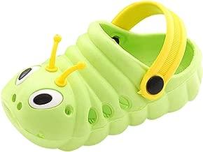 HYIRI Children's Caterpillar Non-Slip Shoes,Summer Toddler Baby Cute Cartoon Beach Sandals Slippers Flip Shoes