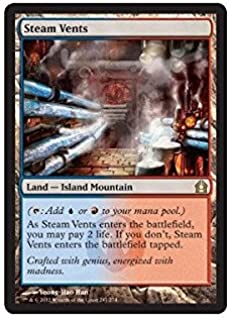 Magic: the Gathering - Steam Vents (247) - Return to Ravnica