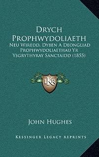 Drych Prophwydoliaeth: Neu Wiredd, Dyben A Deongliad Prophwydoliaethau Yr Ysgrythyray Sanctaidd (1855) (Welsh Edition)