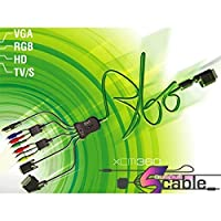 Third Party - Cable XCM 5 Sorties pour XBOX 360 - 0583215013022