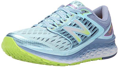 New Balance Women's Fresh Foam 1080 V6 Running Shoe, Blue/Grey, 8 B US