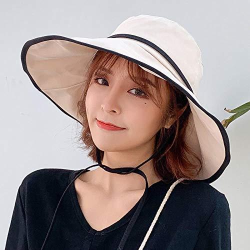 Visser hoed vrouwelijke zomer wilde zonnebrandcrème ultraviolet zonnescherm zonnehoed wastafel hoed