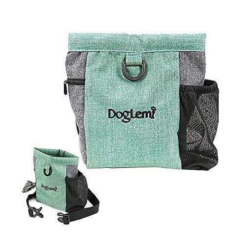 Joycabin Dog Treat Pouch, Bolsa Premios Perro con Magnético Apertura, Multifuncional Bolsa...