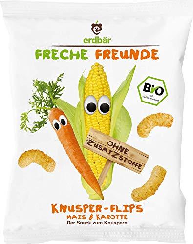Freche Freunde Bio Knabberzeug für Kinder, Knusper-Flips
