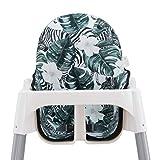 JANABEBE Colchoneta para trona antilop Ikea (Zebra)