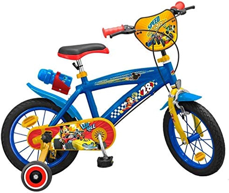 Todos los productos obtienen hasta un 34% de descuento. Toim Bicicleta Mickey and The Roadster Racers 16 16 16  comprar mejor