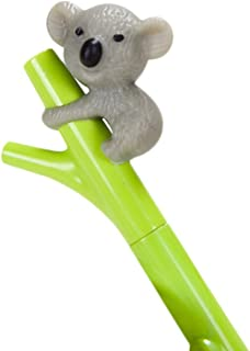 0.5mm Creative Cute Koala Branches Black Ink Gel Pen Signing Pen,Fenleo Back to School Suppllies
