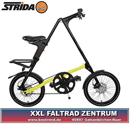 STRIDA SX18Z black neonyellow Faltrad 18Zoll 9,5kg neon