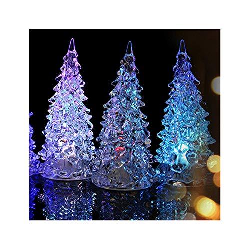 HOKVJ Colorful Dream Crystal Tree Novedad Luz De Noche Led Lámpara De...